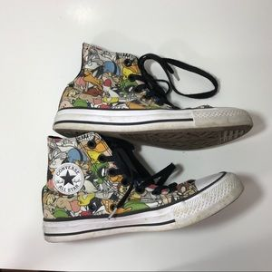 CONVERSE | Looney Tunes High Top Shoes Men 4 / W 6